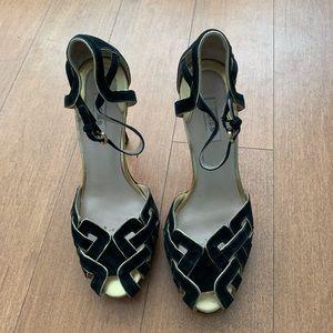 Reiss Suede Sandals